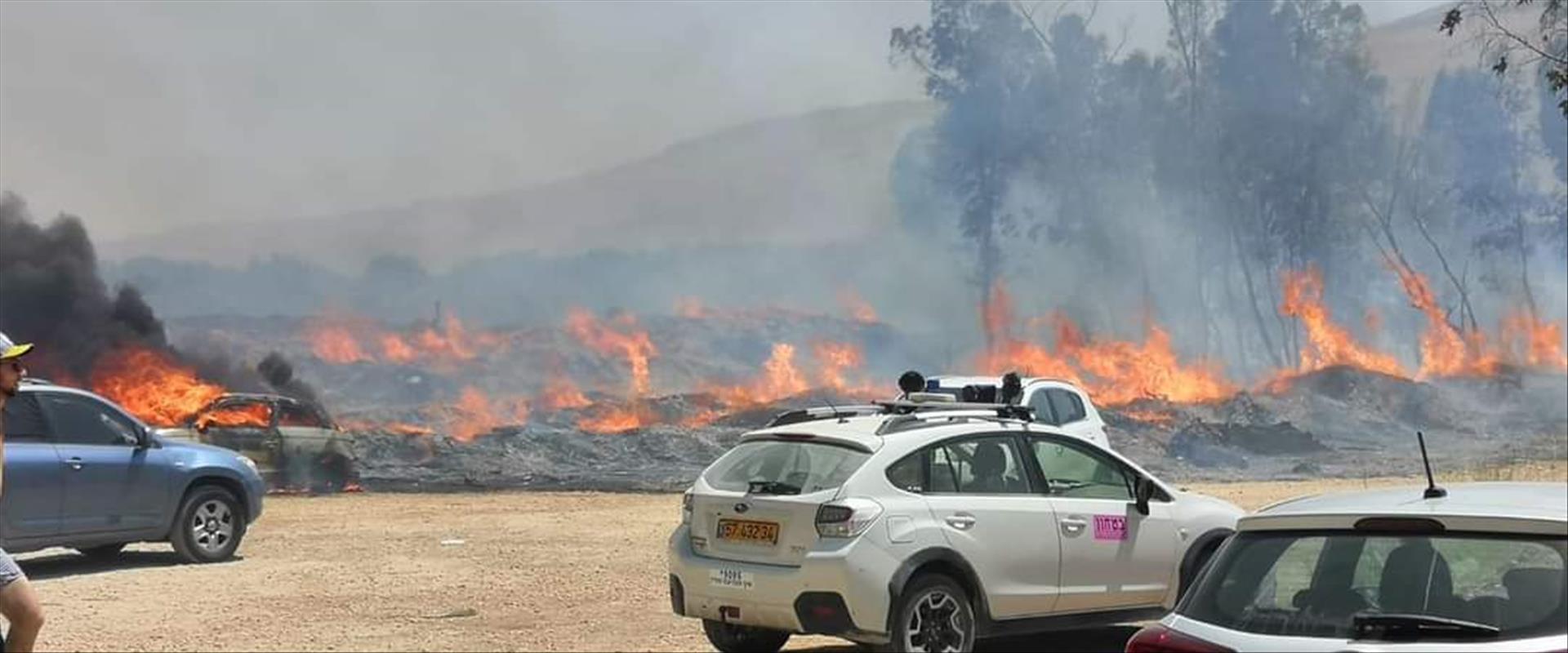 השריפה בעמק המעיינות