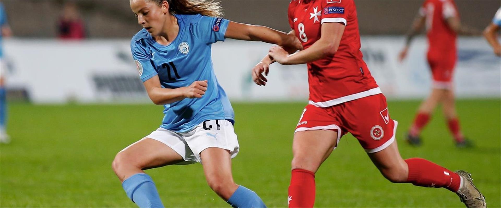 כדורגלנית נבחרת ישראל נועה סלימהוגיץ'