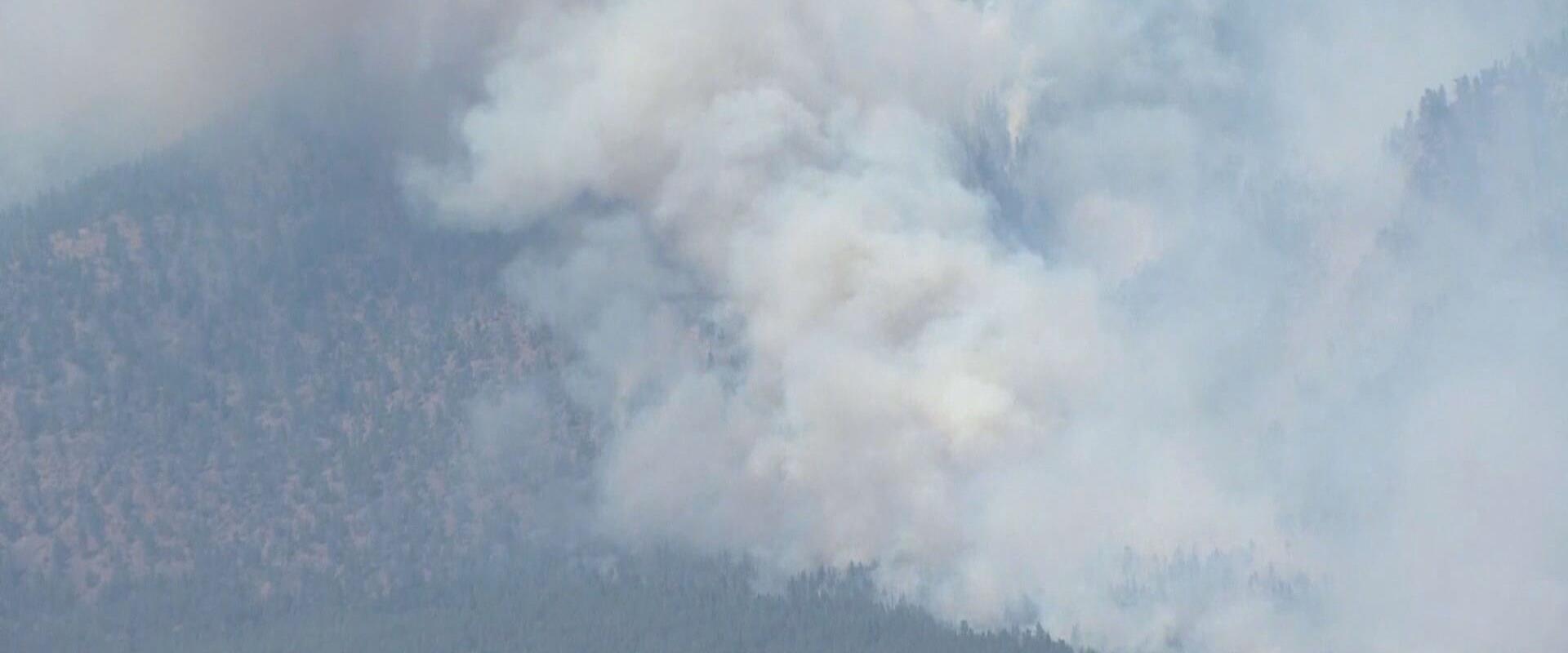 שריפות בקנדה, בסוף השבוע