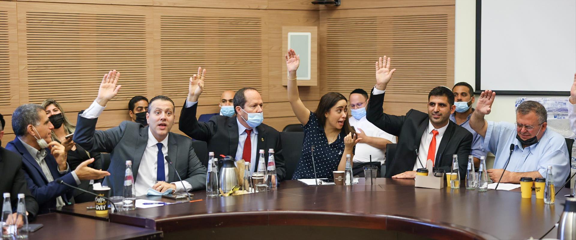 הצבעה בוועדה המסדרת