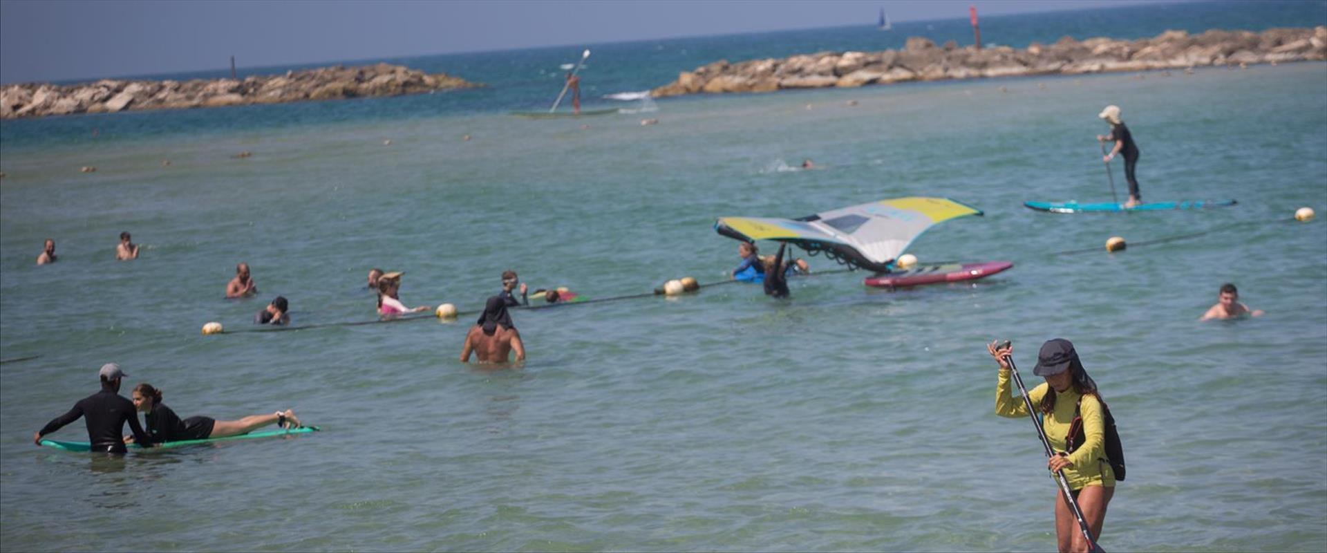 חוף הים תל אביב, 29.06.21