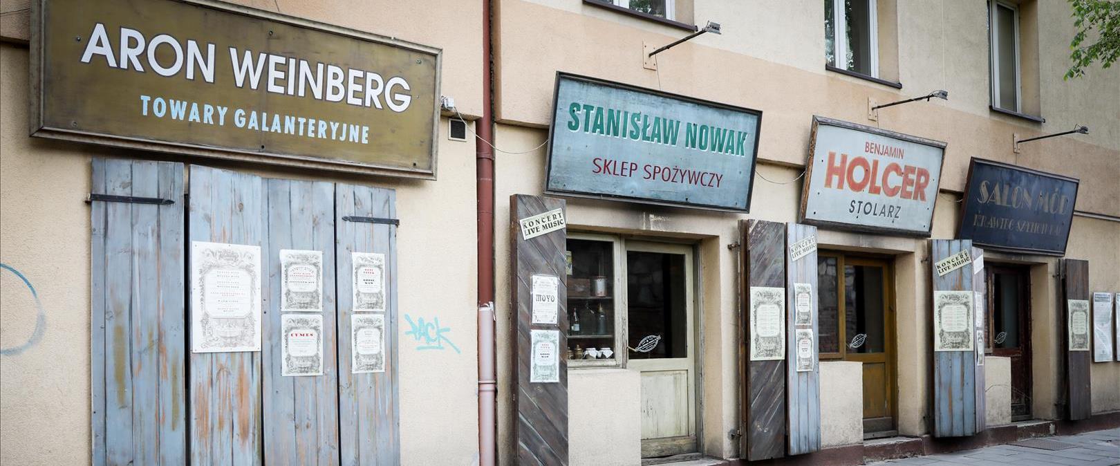 חנויות של יהודים בקרקוב, פולין