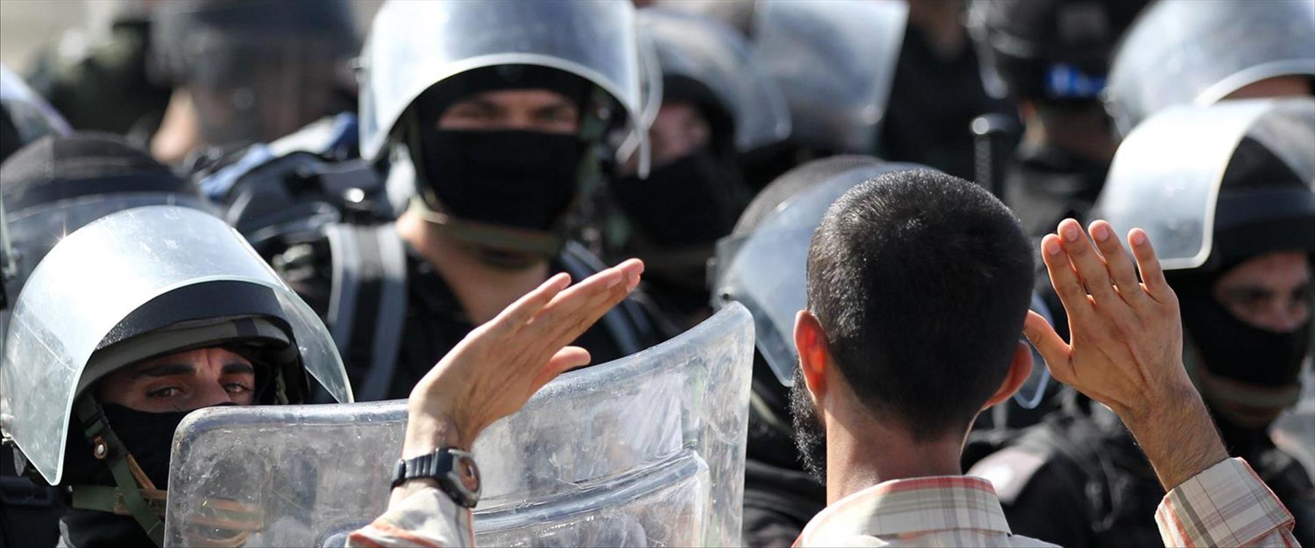 כוח משטרה באום אל פחם