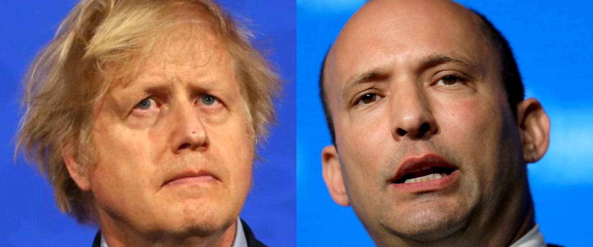 """רה""""מ בנט וראש ממשלת בריטניה ג'ונסון, ארכיון"""