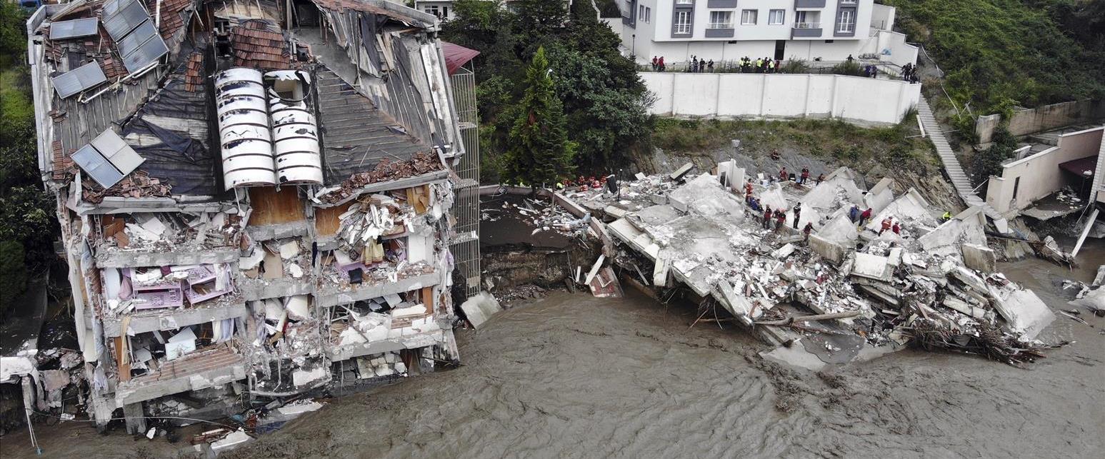 שיטפונות בטורקיה, הרס