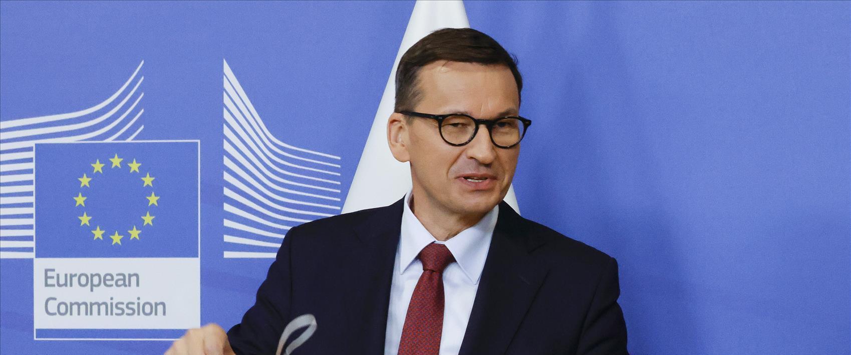 ראש ממשלת פולין מטאוש מורבייצקי