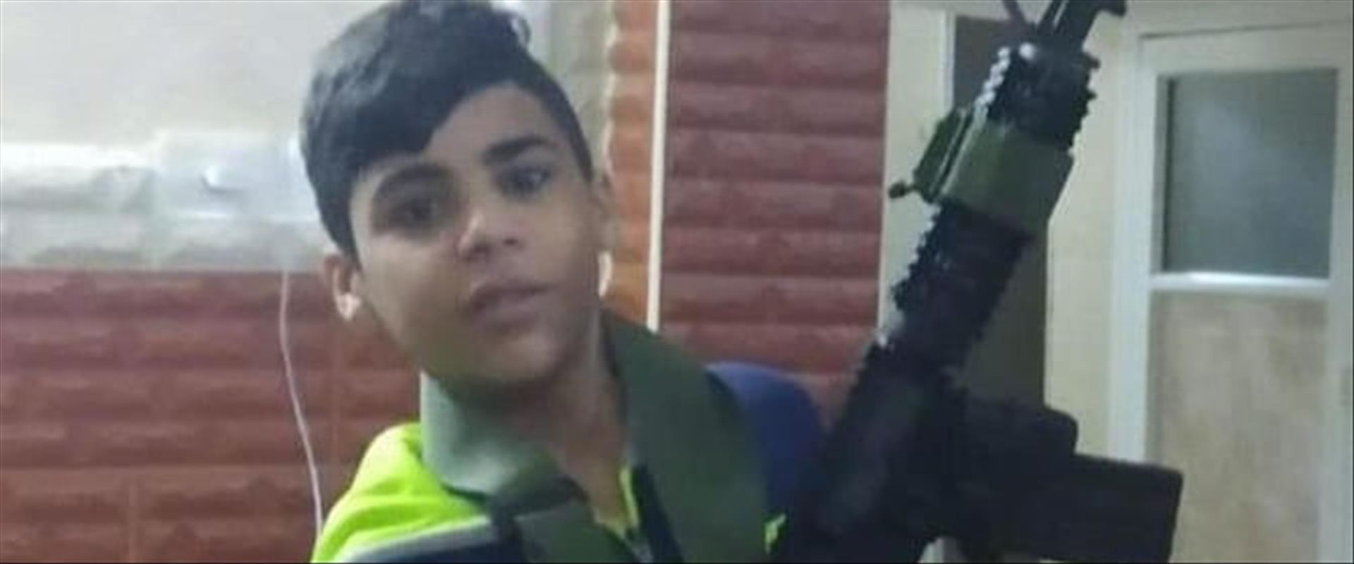"""הנער שנהרג ליד שכם מירי צה""""ל 24.8.2021"""