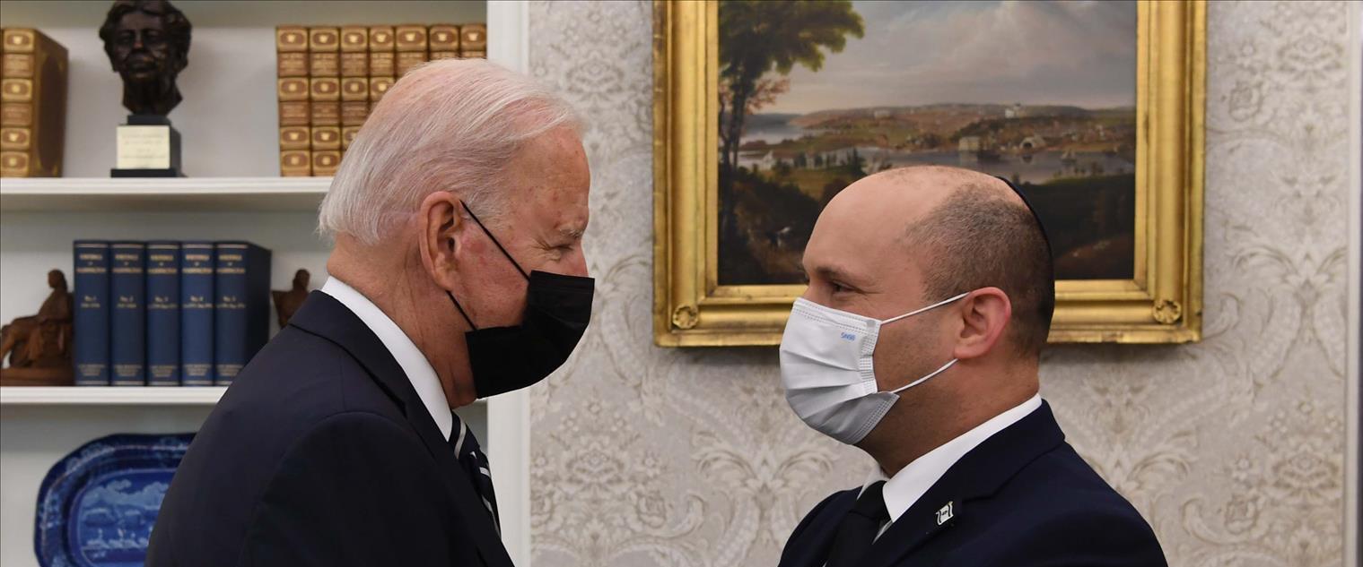 """רה""""מ בנט ונשיא ארצות הברית, הערב"""