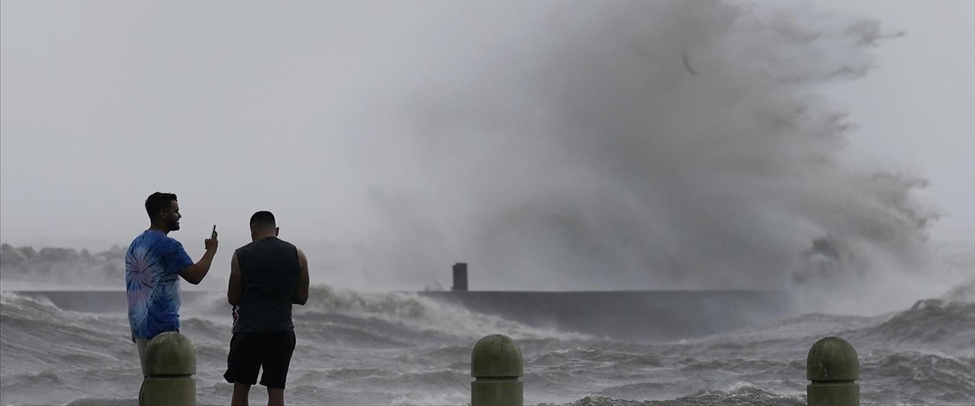 הוריקן אידה בניו אורלינס