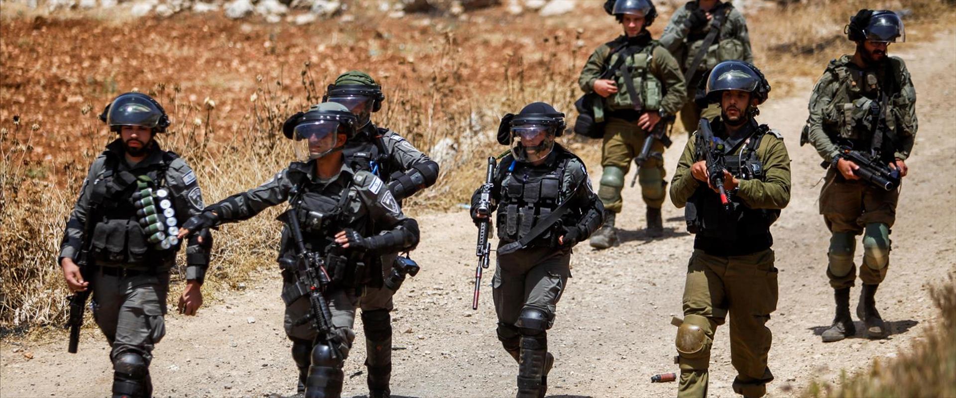 """חיילי מג""""ב ביהודה ושומרון, מאי 2021"""