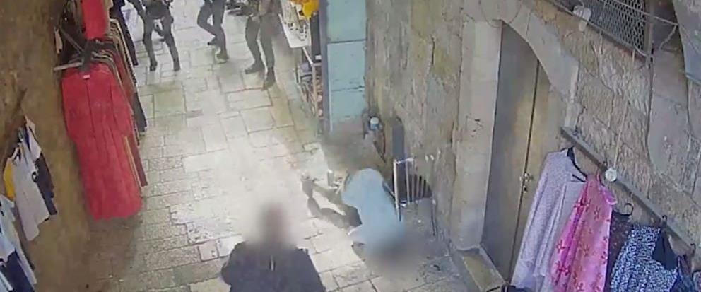 ניסיון פיגוע דקירה בשער מג'לס