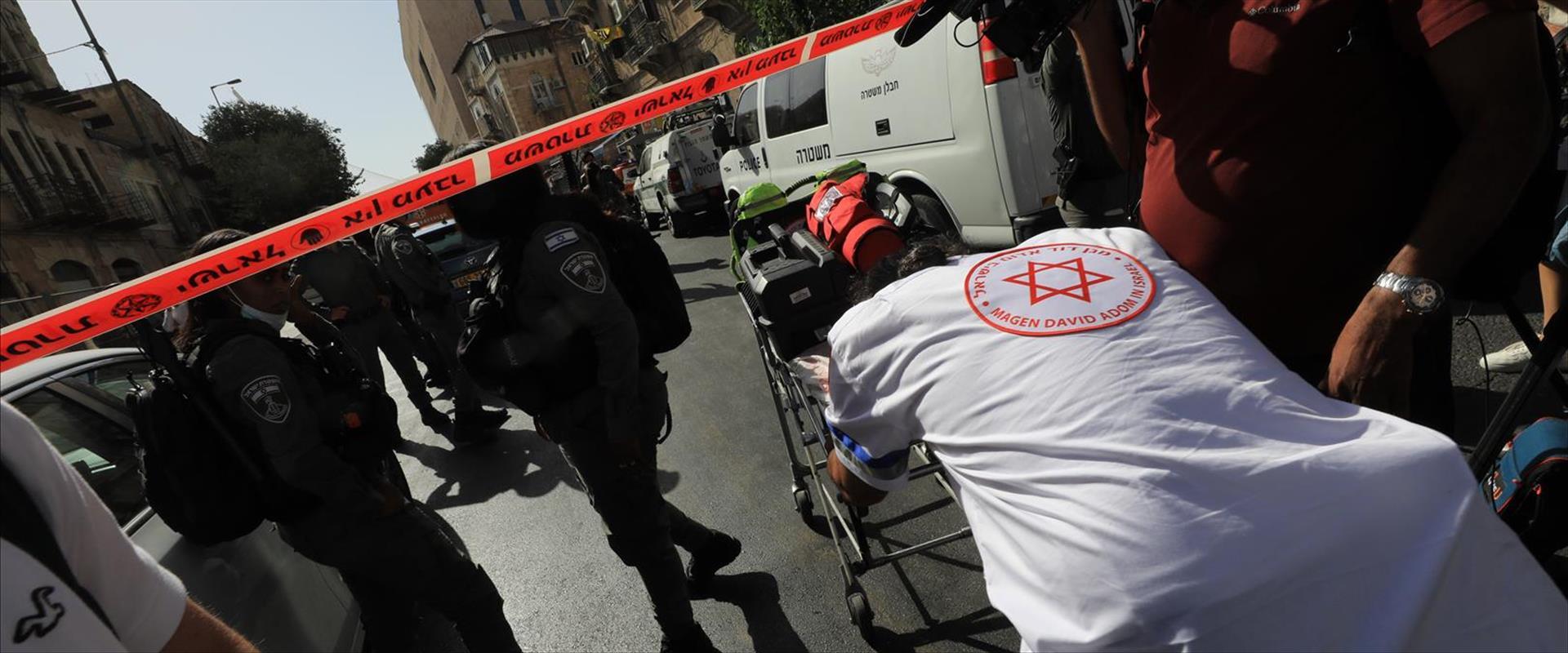 اعتداء طعن ارهابي اورشليم القدس