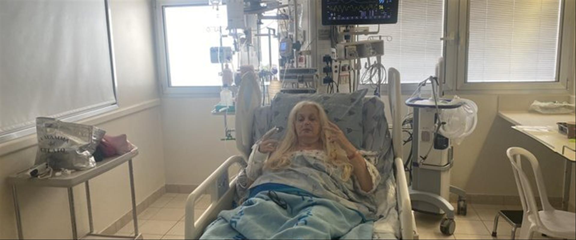 מירי אלוני בבית החולים