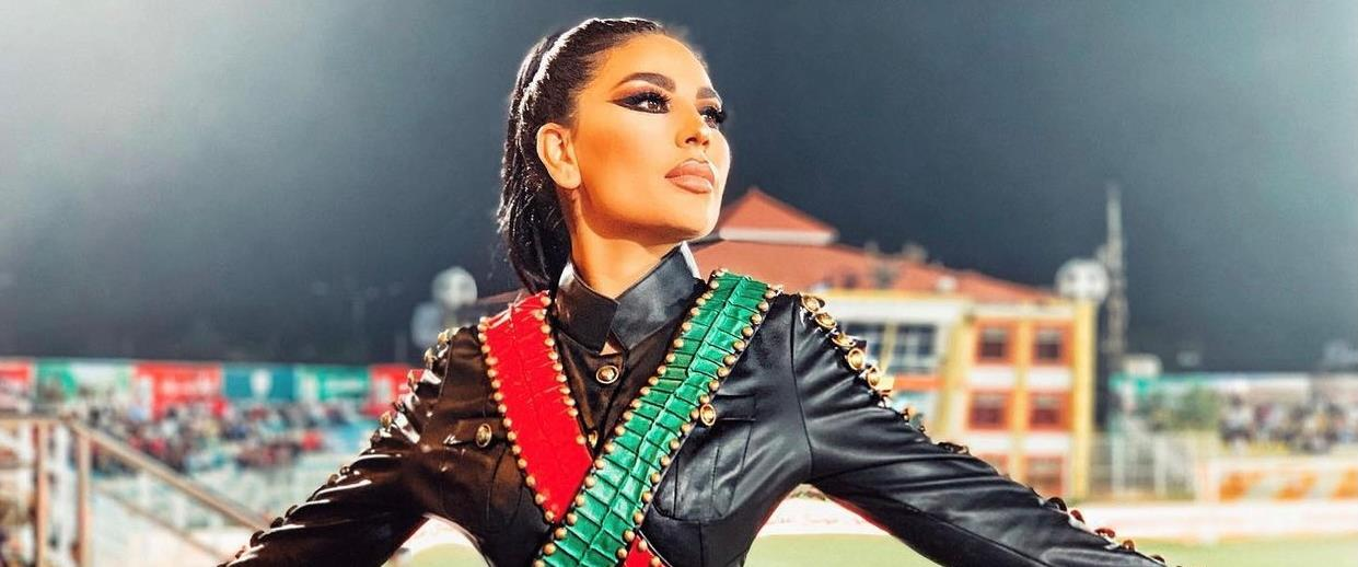 הזמרת האפגנית אריאנה סעיד
