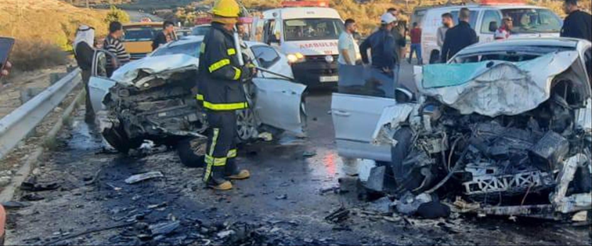 תאונת דרכים קלטנית בשומרון