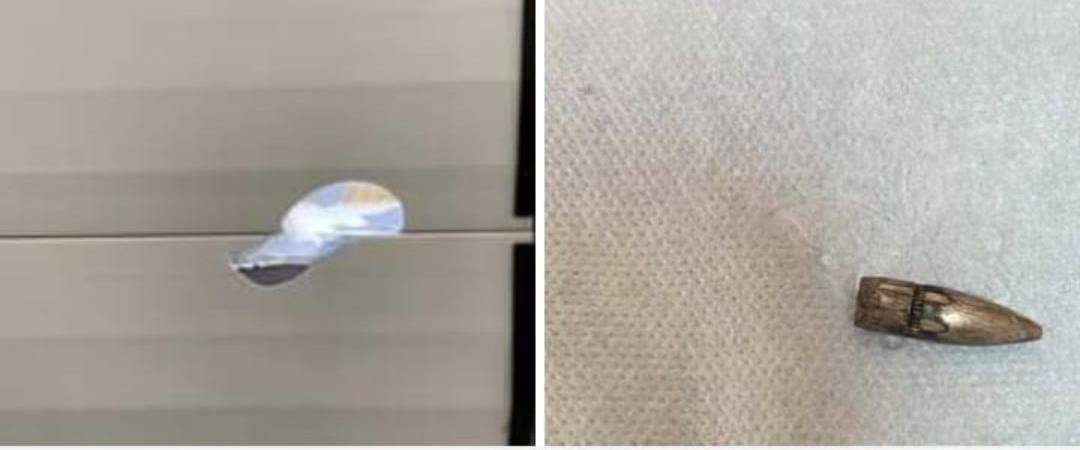 כדורים תועים שנורו בתל שבע ביישוב עומר