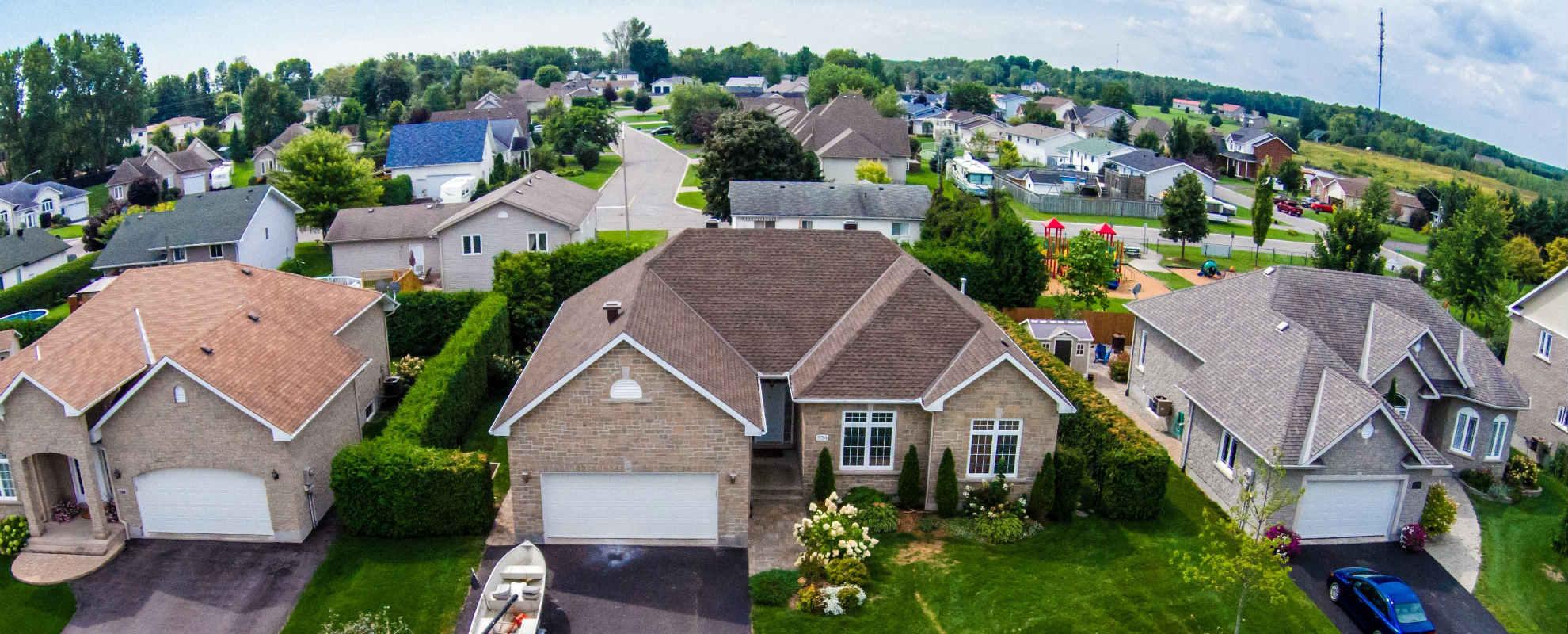 """אילוסטרציה: בתים למכירה בארה""""ב"""