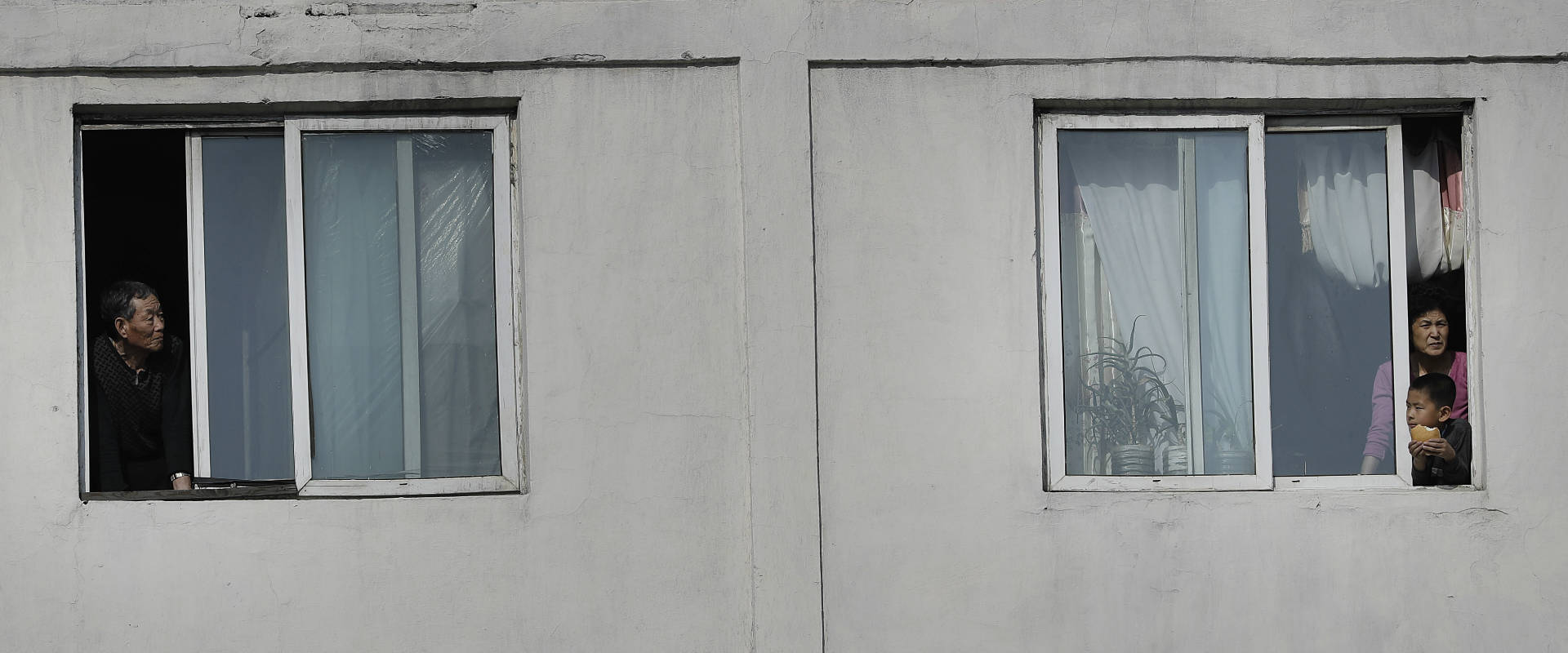 שיכון בפיונגיאנג, בירת צפון קוריאה