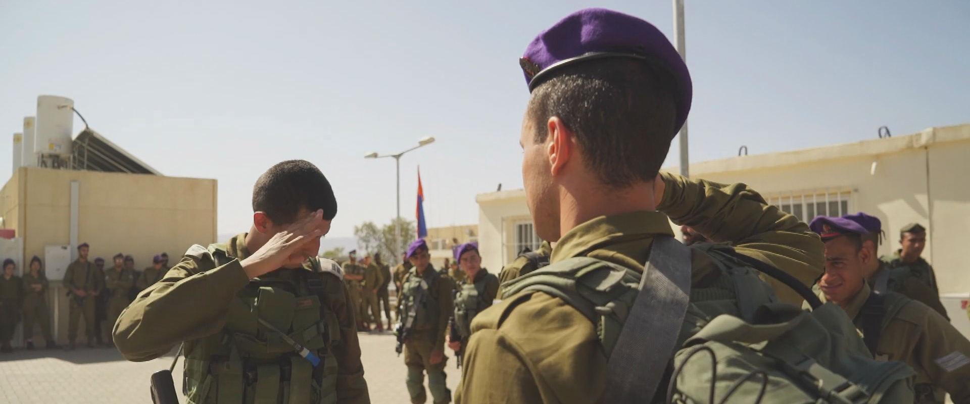הצעיר ממזרח ירושלים בטקס קבלת כומתה