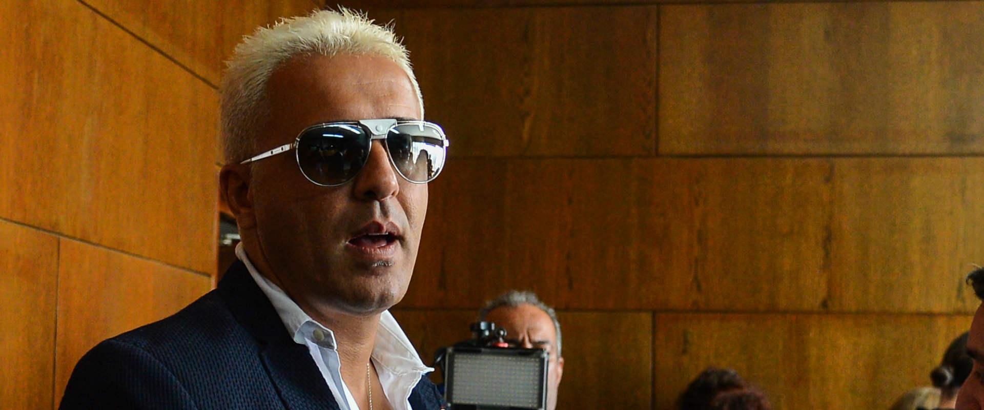 קובי פרץ בבית המשפט במארס 2016