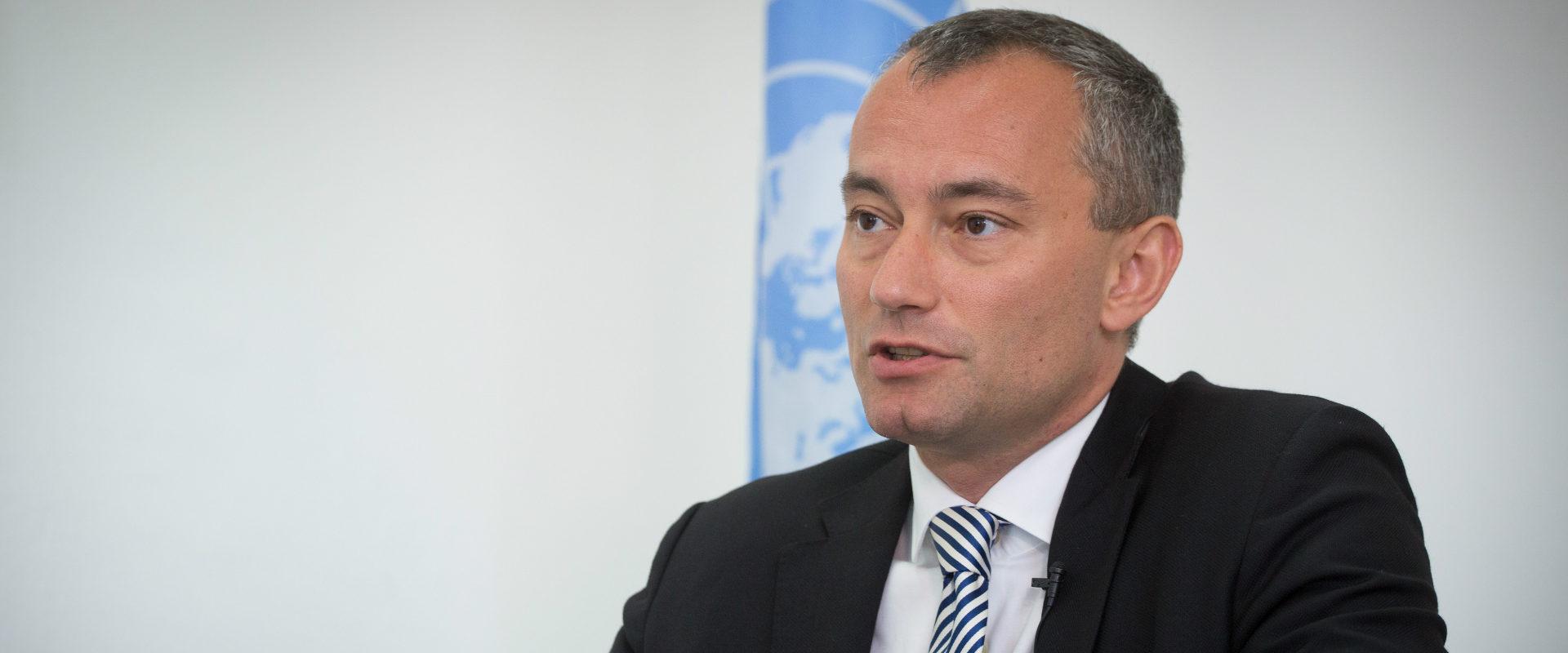 """שליח האו""""ם למזרח התיכון, ניקולאי מלאדנוב"""
