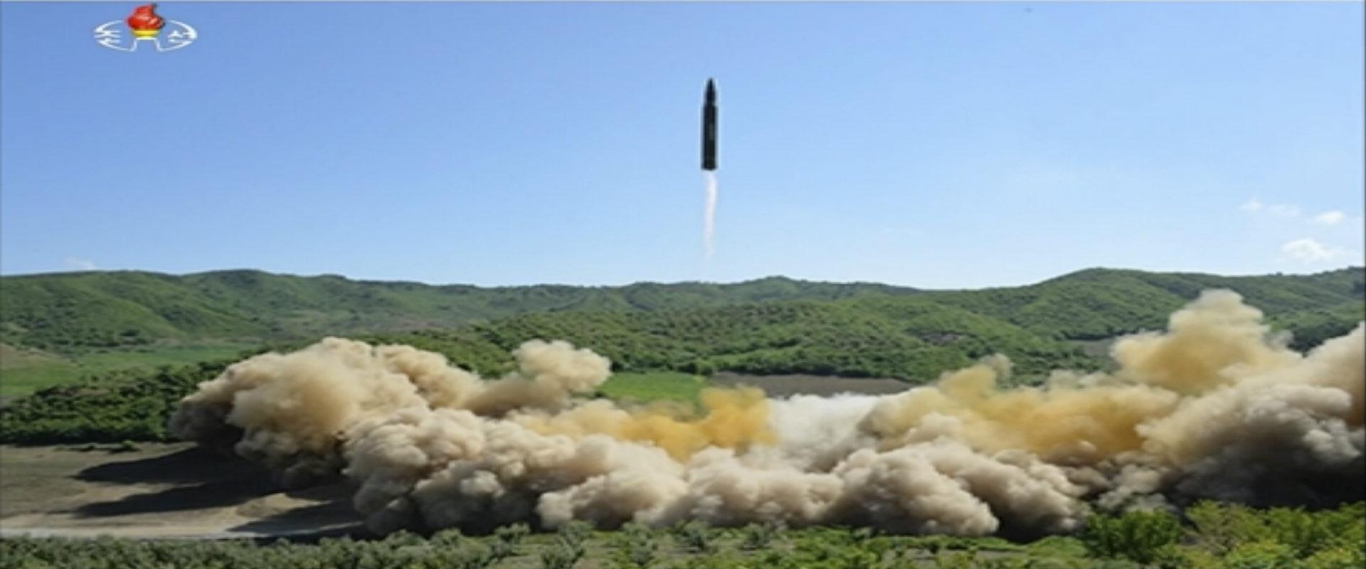 שיגור הטיל הבין-יבשתי ששיגרה קוריאה הצפונית, יולי