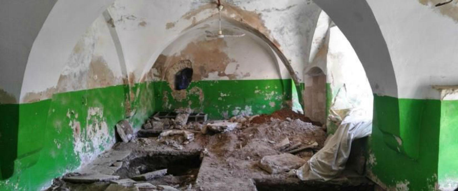 """תיעוד ההרס במסגד """"בירכת אלסולטאן"""" שהועבר לאונסק""""ו"""