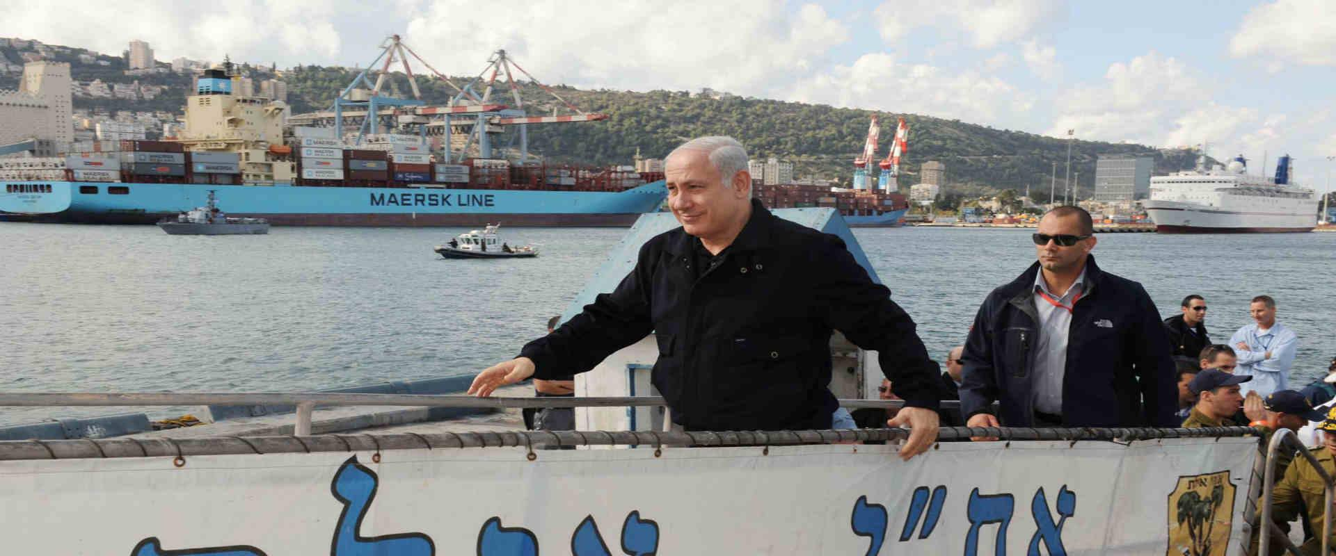 ראש הממשלה בנימין נתניהו בביקור בבסיס חיל הים, 200