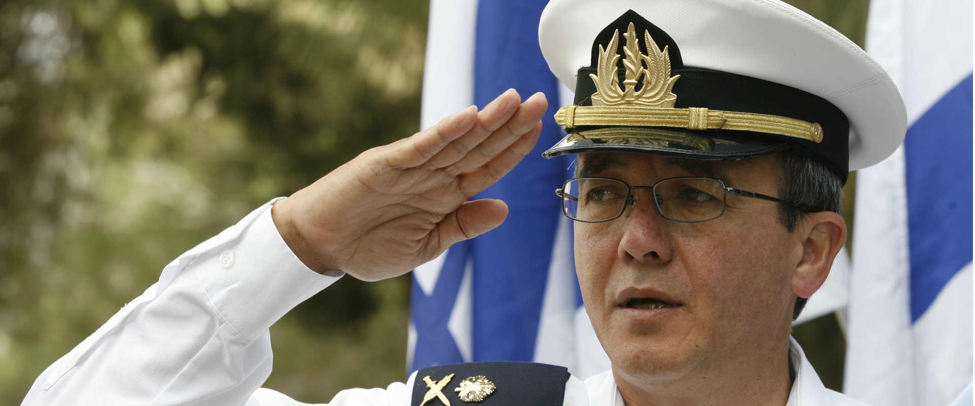 מפקד חיל הים לשעבר אליעזר (צ'ייני) מרום