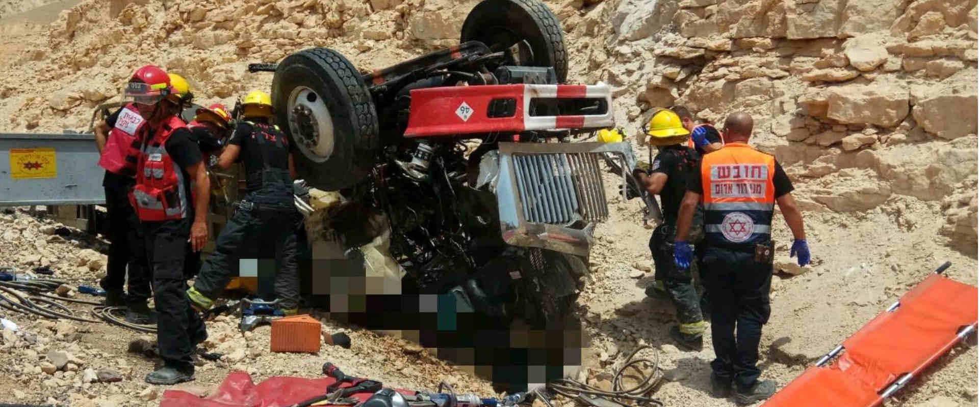 זירת התאונה בכביש 12, היום