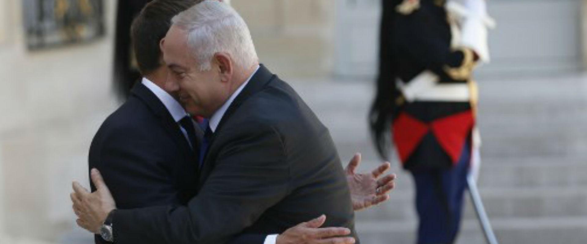 ראש הממשלה ונשיא צרפת בפריז, היום