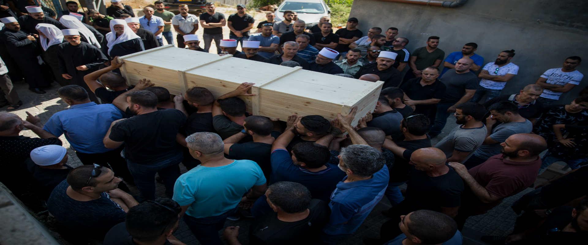 הלוויתו של האיל סיתאוי, השוטר שנהרג בפיגוע בהר הבי