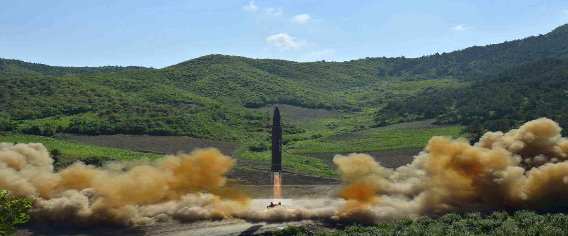 הטיל הצפון קוריאני ששוגר ב-4 ביולי