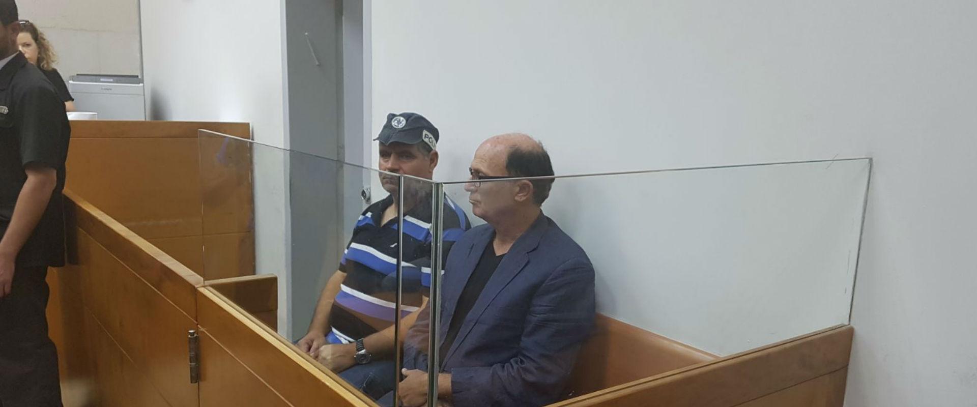 אבריאל בר יוסף, היום בבית המשפט