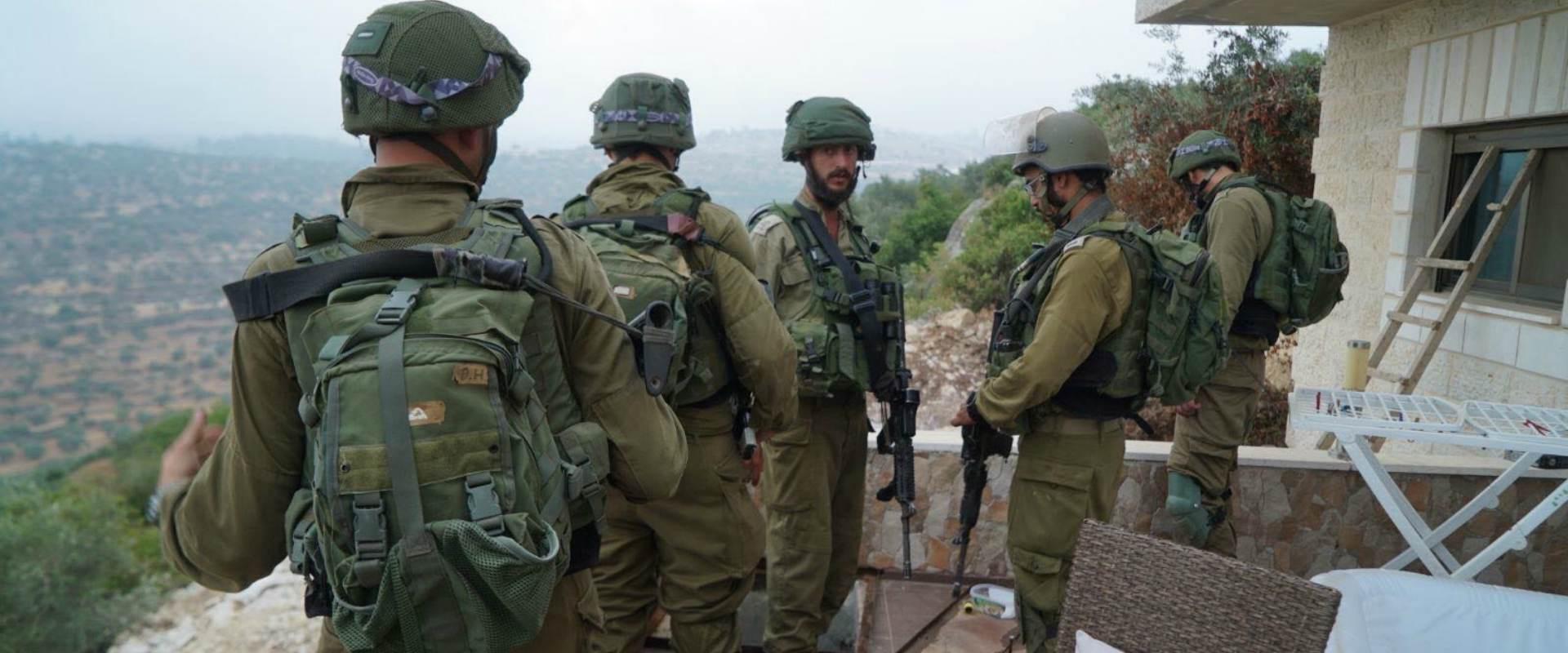 """כוחות צה""""ל בפעילות מבצעית"""