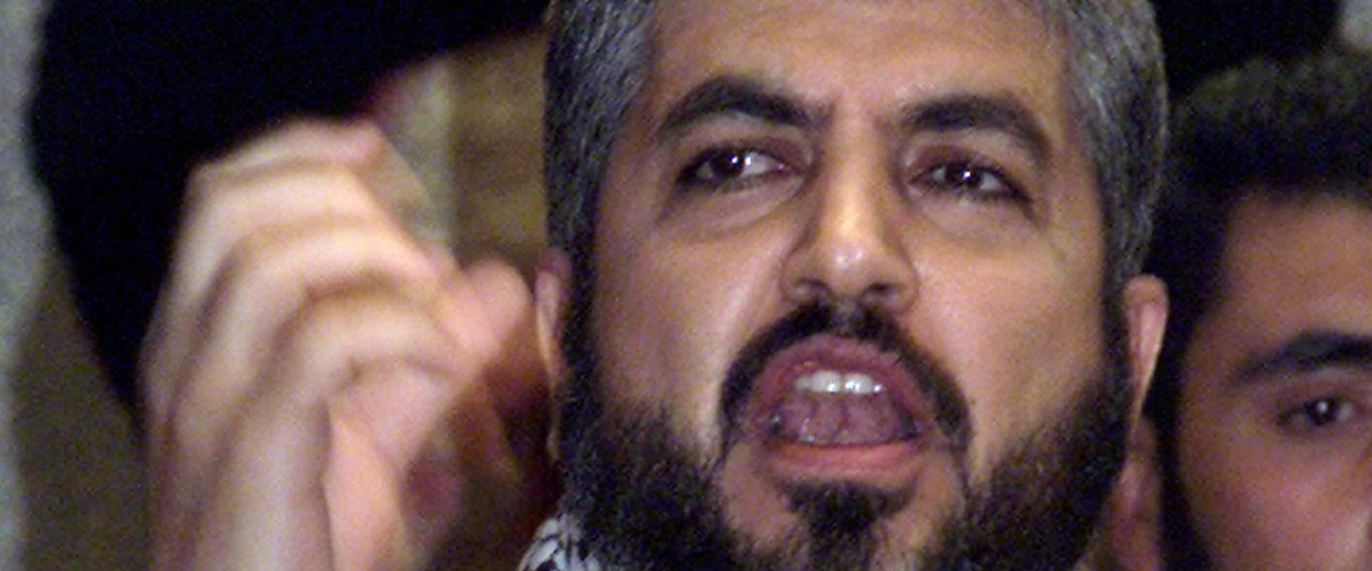 מנהיג חמאס לשעבר חאלד משעל, 2006