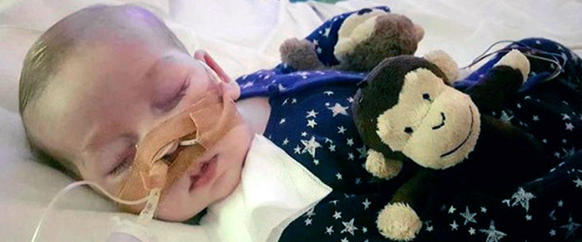 התינוק הבריטי צ'ארלי גארד (צילום: אי-פי)
