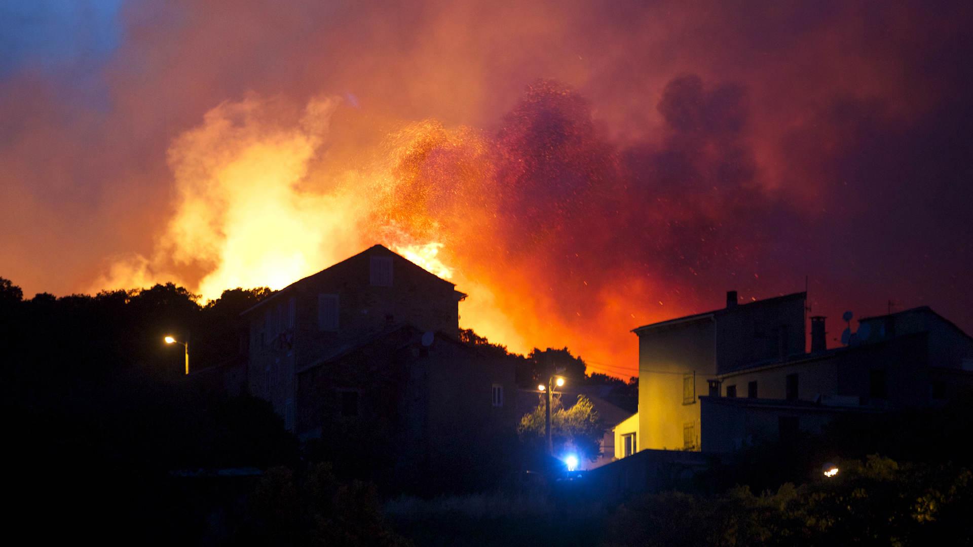 השריפה בצרפת, אתמול