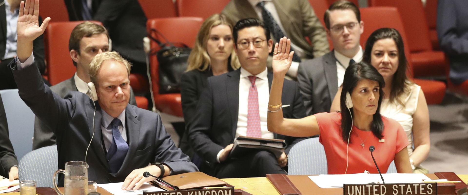 """ההצבעה במועצת הביטחון של האו""""ם"""