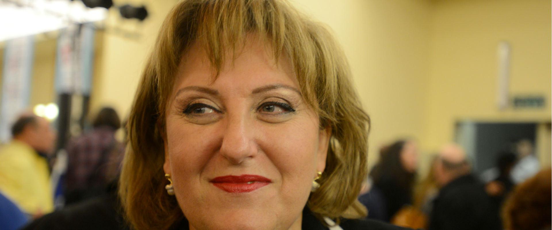 פאינה קירשנבאום בוועידת סיעת ישראל ביתנו