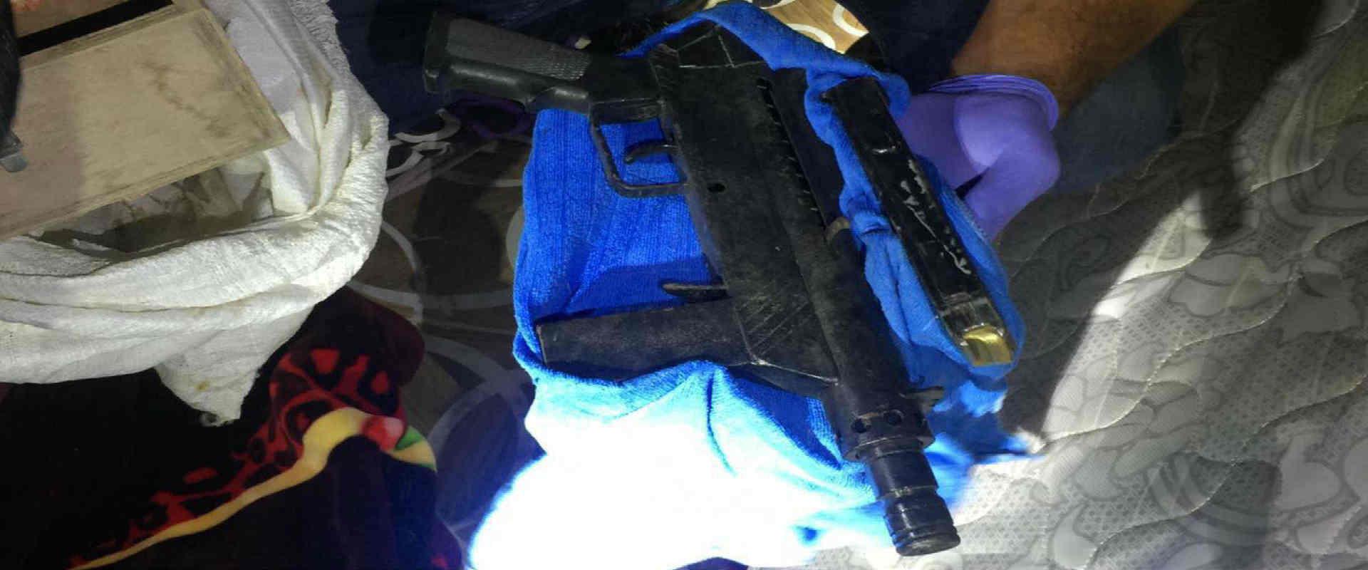 נשק שנתפס במהלך פעילות המשטרה