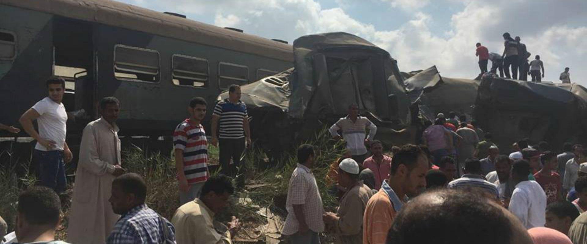 תאונת הרכבות במצרים