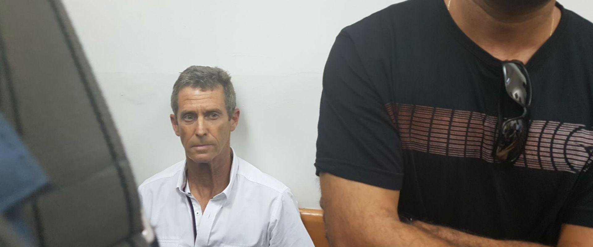 בני שטיינמץ בדיון בהארכת מעצרו