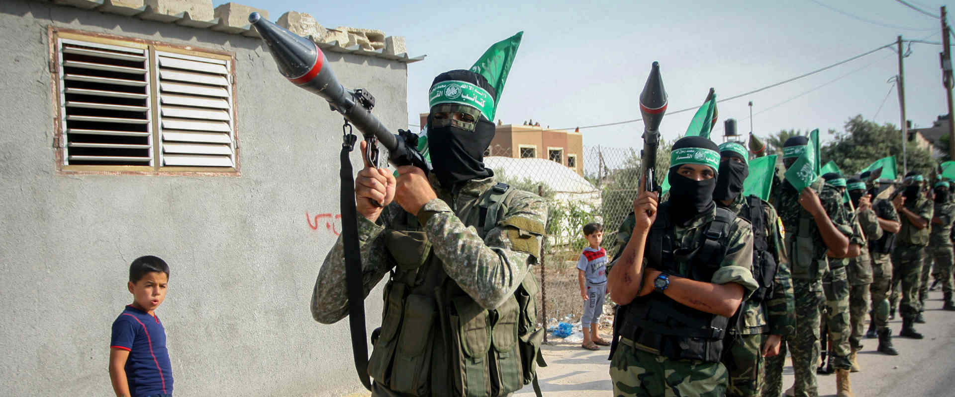 פעילי חמאס ברצועת עזה