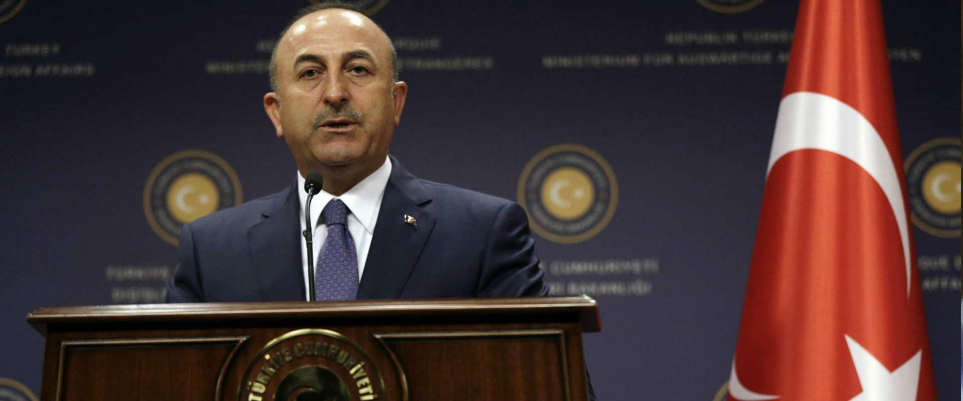 שר החוץ הטורקי מבלוט צ'אבושאולו