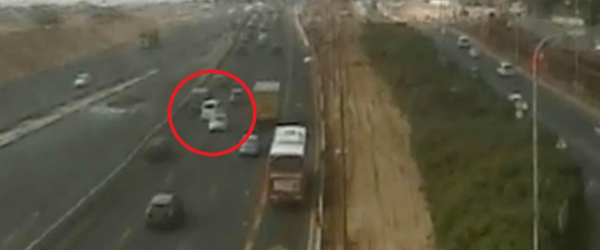 הרכב שאחריו נוהל המצוד המשטרתי