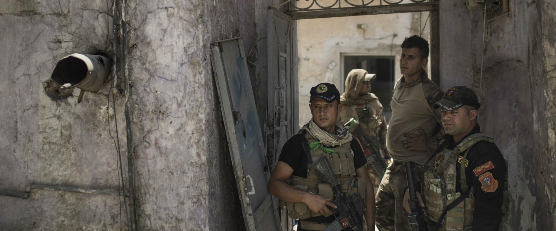 צבא עיראק לאחר כיבוש מוסול מידי דאעש