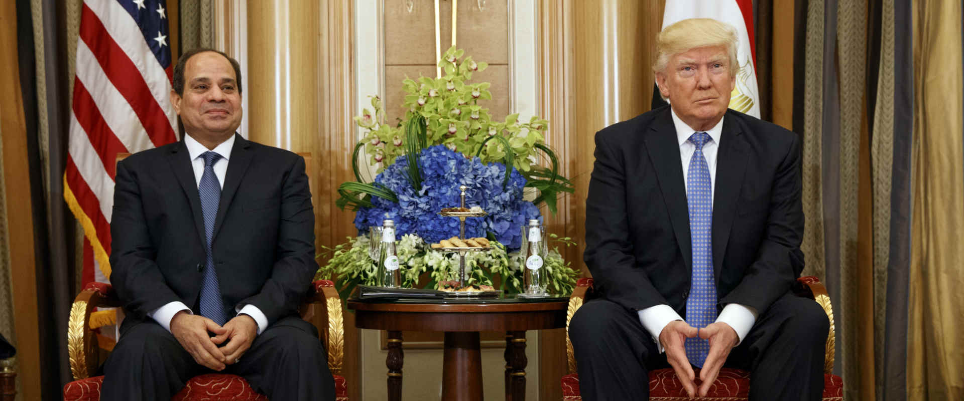 פגישת טראמפ וא-סיסי בריאד, 21 במאי 2017