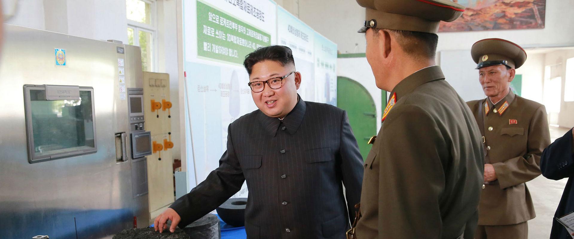 שליט קוריאה הצפונית קים ג'ונג און
