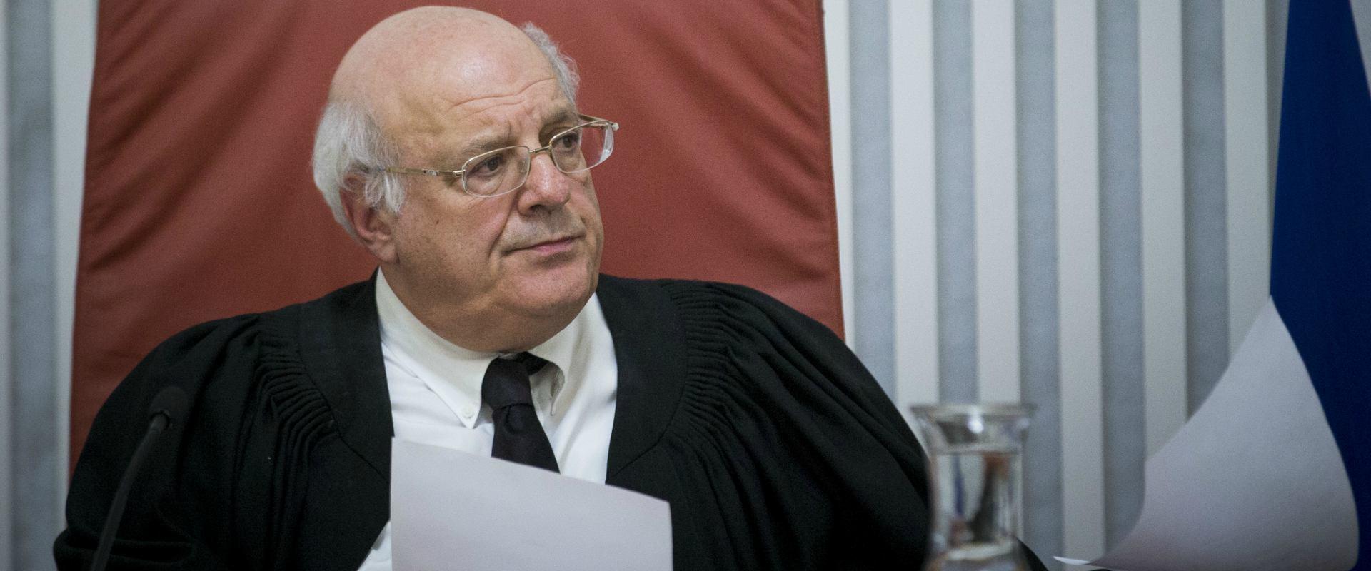 השופט חנן מלצר